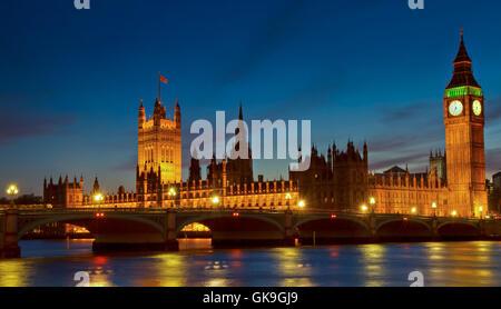 london england style of construction - Stock Photo