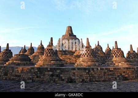 religion temple statue - Stock Photo
