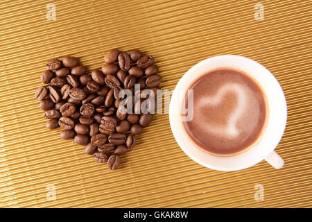 cafe cup symbolic - Stock Photo