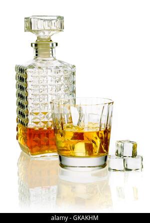 glass chalice tumbler - Stock Photo