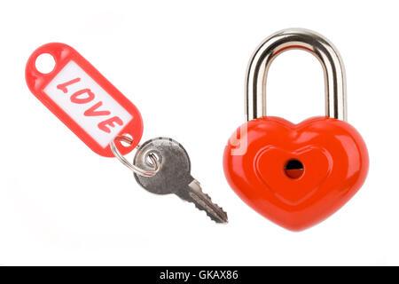 lock private present - Stock Photo