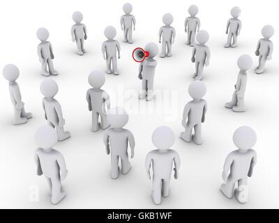 talk speaking speaks - Stock Photo