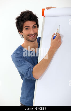 board chart model - Stock Photo