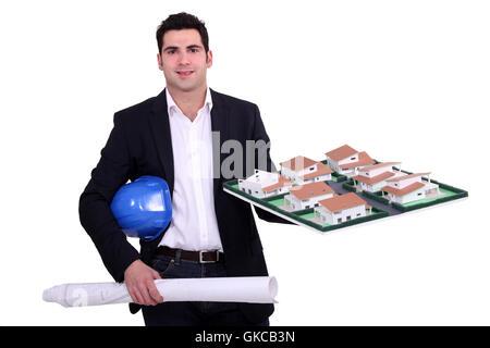 build model design - Stock Photo
