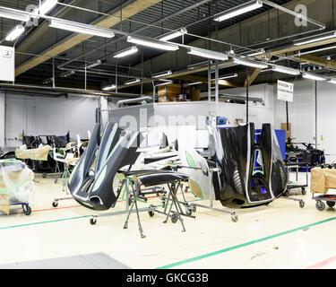 Car Parts Koenigsegg Supercar Factory Angelholm Sweden