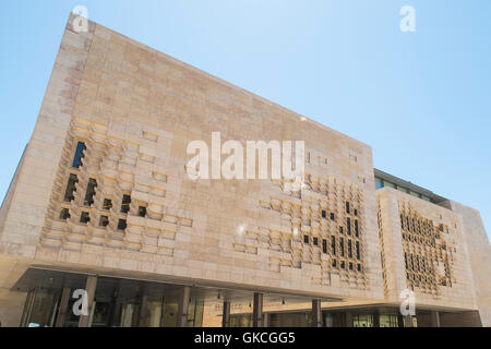Valletta, Malta. The Parliament House. - Stock Photo