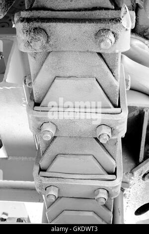 Laminated leaf spring - Stock Photo