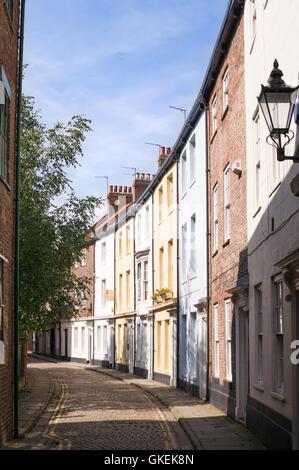 Prince Street, old town, Kingston upon Hull, Yorkshire, England, UK - Stock Photo