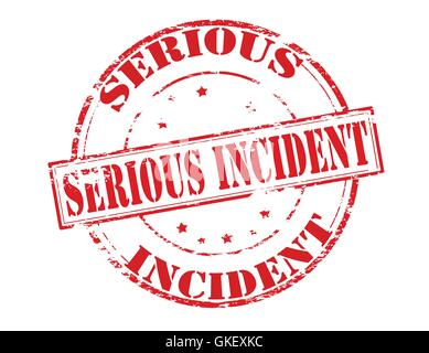 Serious incident - Stock Photo