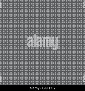 Abstract black and white background, seamless vector pattern - Stock Photo