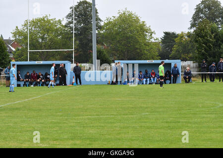 Manchester  UK  20th August 2016 Maine Road FC, a semi-professional club formed by supporters of Manchester City - Stock Photo