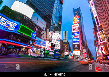 USA, New York, New York City, Times Square - Stock Photo