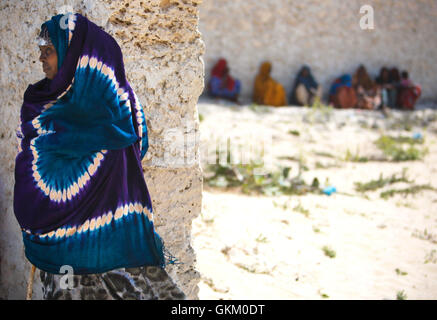 SOMALIA, Mogadishu: In a photograph dated 4 February and released by the African Union-United Nations Information - Stock Photo
