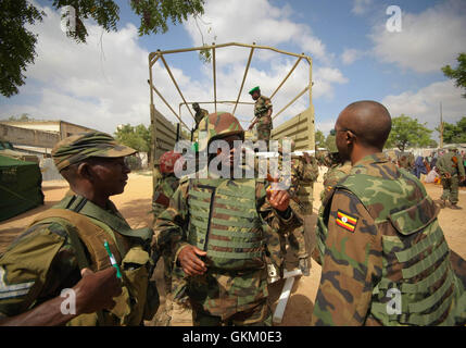 SOMALIA, Mogadishu: In a photograph dated 5 February and released by the African Union-United Nations Information - Stock Photo