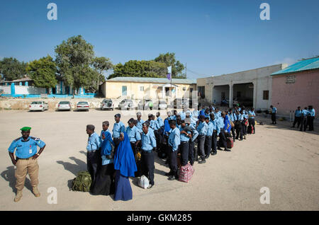 SOMALIA, Mogadishu: In a handout photograph dated 17 January and released by the African Union-United Nations Information - Stock Photo