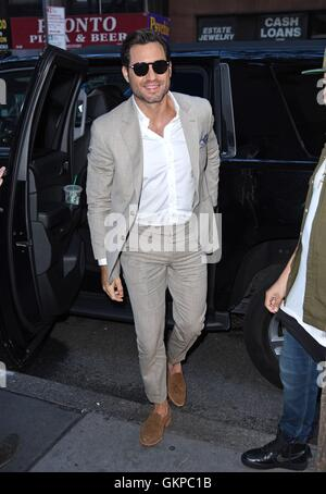 New York, NY, USA. 22nd Aug, 2016. Edgar Ramirez out and about for Celebrity Candids - MON, New York, NY August - Stock Photo