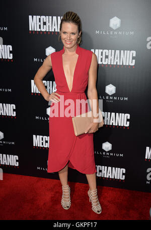 Los Angeles, USA. 22nd Aug, 2016. LOS ANGELES, CA. August 22, 2016: Actress Lauren Shaw at the Los Angeles premiere - Stock Photo
