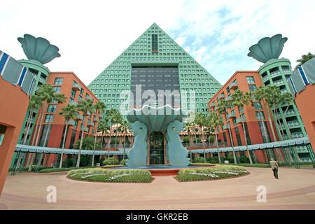 Orlando, Florida. January 1st, 2009. The Walt Disney World Dolphin Hotel. Lucy Clark/Alamy Live News - Stock Photo