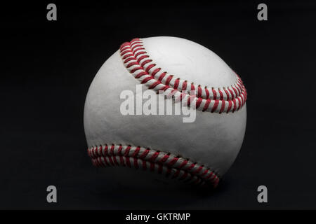 American Baseball Detail Of Ball - Stock Photo