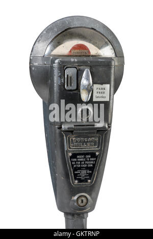 Old Classic Parking Meter - Stock Photo