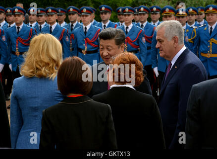 Belgrade, Serbia. 18th June, 2016. President of the People's Republic of China Xi Jinping on an official three-day - Stock Photo