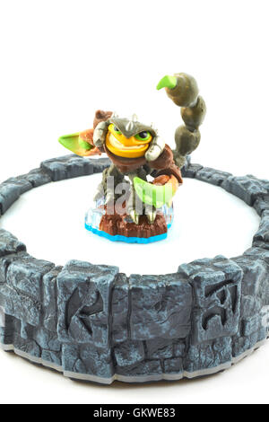 Scorp One Of The Many Characters In The Skylanders Video Game - Stock Photo