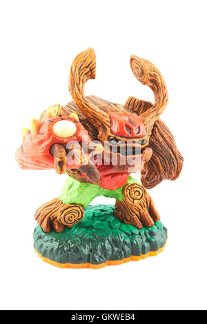 Tree Rex One Of The Many Characters In The Skylanders Video Game - Stock Photo