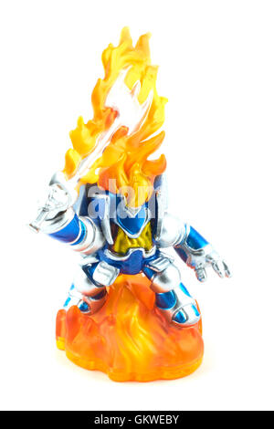 Ignitor One Of The Many Characters In The Skylanders Video Game - Stock Photo