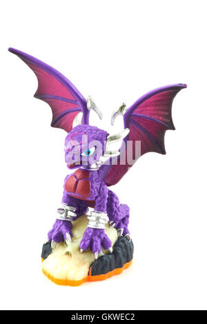 Cynder One Of The Many Characters In The Skylanders Video Game - Stock Photo