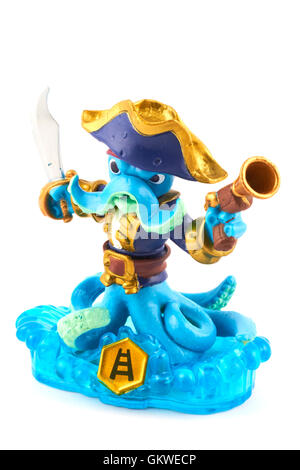 Wash Buckler One Of The Many Characters In The Skylanders Video Game - Stock Photo