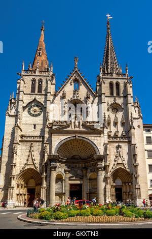 Lyon 2e arr. Church Saint Nizier. Rhone-Alpes. France - Stock Photo