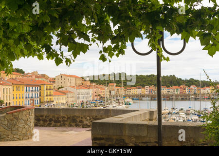 Port-Vendres in the Pyrenees-Orientales, France - Stock Photo