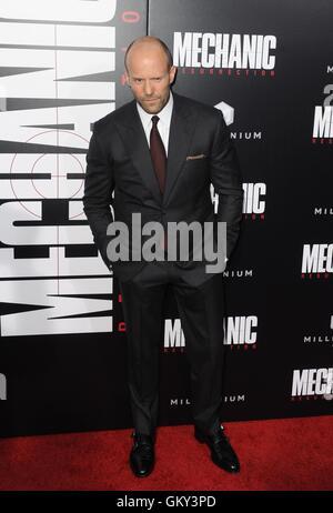 Hollywood, CA. 22nd Aug, 2016. Jason Statham at arrivals for MECHANIC: RESURRECTION Premiere, Arclight Cinemas Hollywood, - Stock Photo