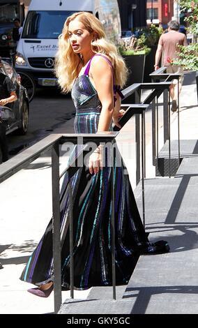 New York City, USA. 23rd August, 2016.  Rita Ora seen  in New York, New York on August 23, 2016. Credit:  MediaPunch - Stock Photo