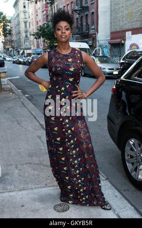 New York, NY, USA. 23rd Aug, 2016. Condola Rashad out and about for Celebrity Candids - TUE, New York, NY August - Stock Photo