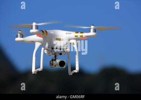 Drone in the sky - Stock Photo