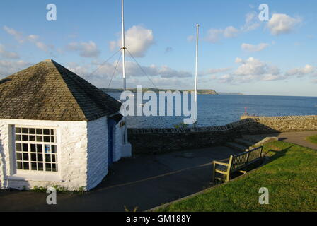 Portscatho, Cornwall, England - Stock Photo