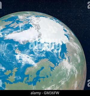 Arctic - 3D render - Stock Photo