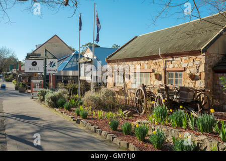 The Old Hahndorf Mill in Hahndorf, in South Australia's picturesque Adelaide Hills. - Stock Photo