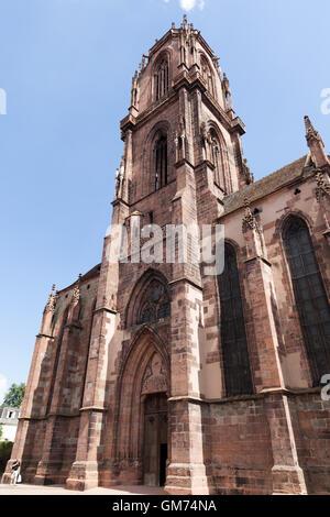 St. George's Church, Sélestat. - Stock Photo