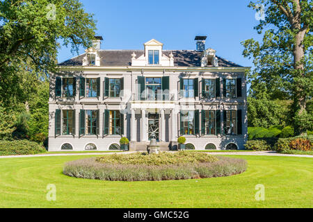 Manor estate Schaep en Burgh in 's Graveland, Gooi district, Netherlands - Stock Photo