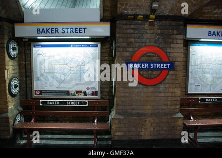 baker street metro subway station london england tube metro station stock photo royalty free. Black Bedroom Furniture Sets. Home Design Ideas