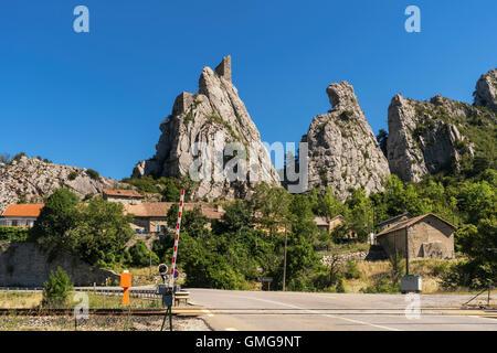 La Rochette, Savoi, Auvergne-Rhône-Alpes, Chambery, France - Stock Photo