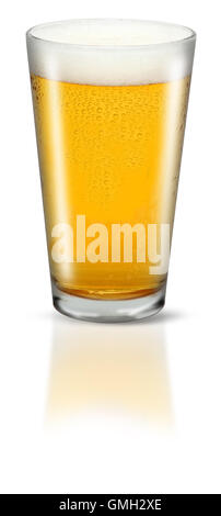Glass of Lager - Stock Photo