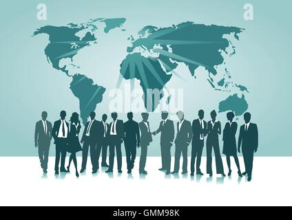 Connection Worldwide - Stock Photo