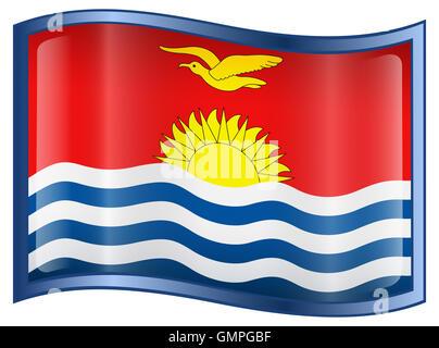 Kiribati Flag icon. - Stock Photo