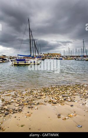 Lyme Regis, Jurassic Coast, UK - Stock Photo