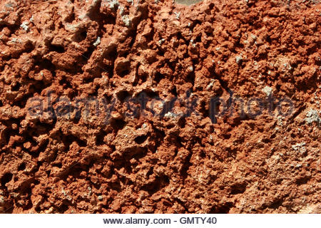 Brown rock texture - Stock Photo
