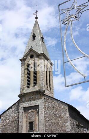 Church in Tarascon-sur-Ariege, Languedoc, France - Stock Photo