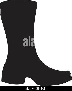 Boots icon - Stock Photo